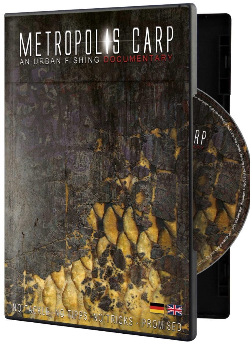 Metropolis Carp DVD - Metropolis Carp Film An Urban Fishing Documentary