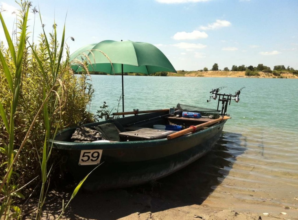 Karpfenangeln-vom-Boot