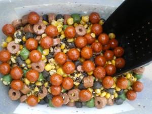 Angeln im Herbst - Mischung Karpfenköder