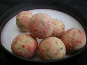 Carpfishing im Herbst Cream Pop Up Boilies