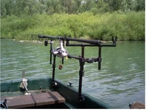 Rodpod Umbau - Tipp zum Angeln vom Boot
