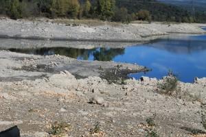 Karpfenangeln Frankreich - Felsiger Boden am Cassien